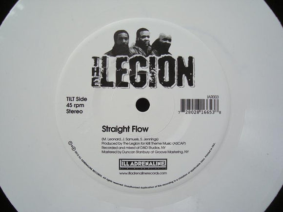 The Legion – Straight Flow / Automatic Systematic (7