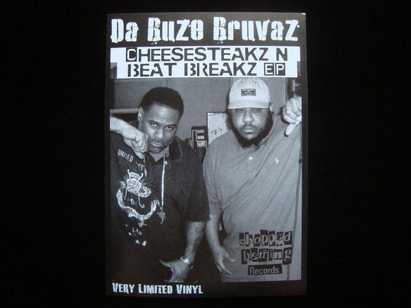 Da Buze Bruvaz ‎– Cheesesteakz N Beat Breakz EP Sticker
