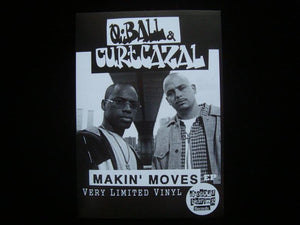 Q Ball & Curt Cazal ‎– Makin Moves EP Sticker