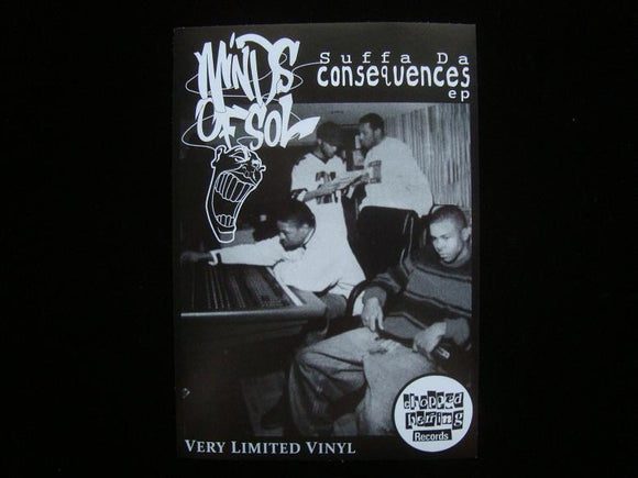 Minds Of Sol ‎– Suffa Da Consequences EP Sticker