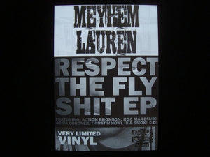 Meyhem Lauren ‎– Respect The Fly Shit EP Sticker