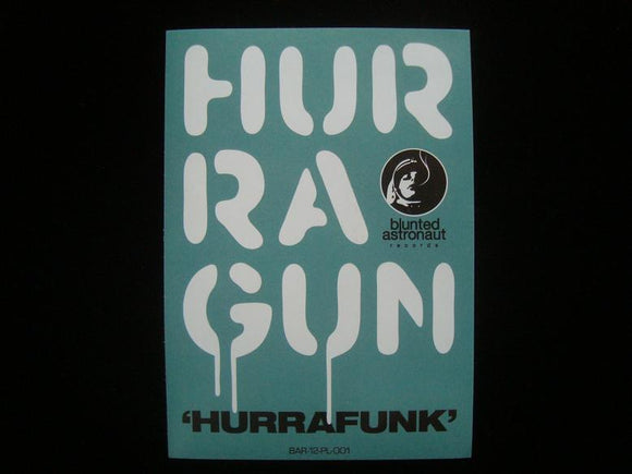 Hurragun ‎– Hurrafunk EP Sticker