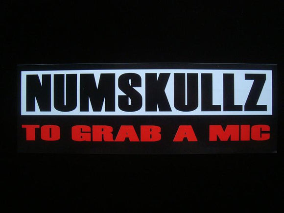 Numskullz ‎– To Grab A Mic 12
