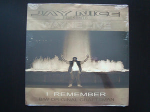 "Wayne Live - I Remember / Original Craftsman (12"")"