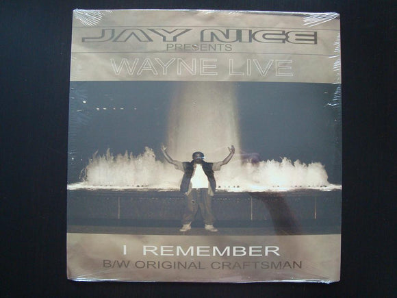 Wayne Live - I Remember / Original Craftsman (12