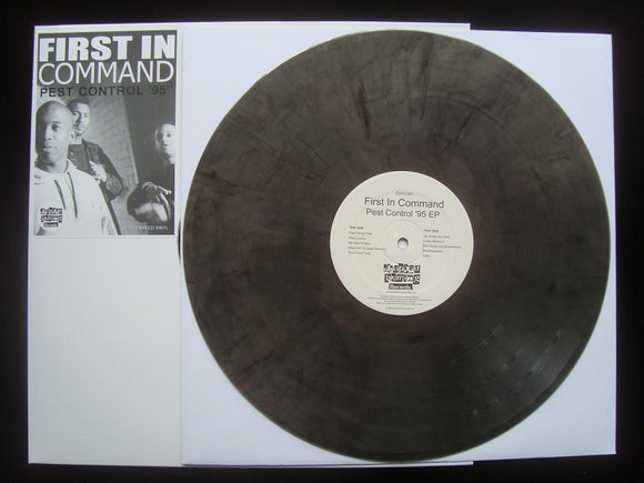 First In Command ‎– Pest Control '95 (EP)