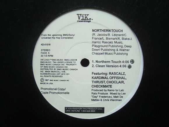 Rascalz - Northern Touch (12