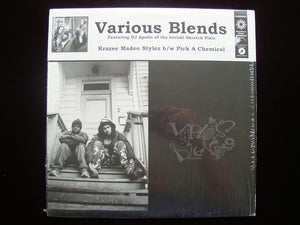 "Various Blends – Krazee Madeo Stylez / Pick A Chemical (12"")"
