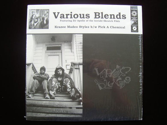 Various Blends – Krazee Madeo Stylez / Pick A Chemical (12