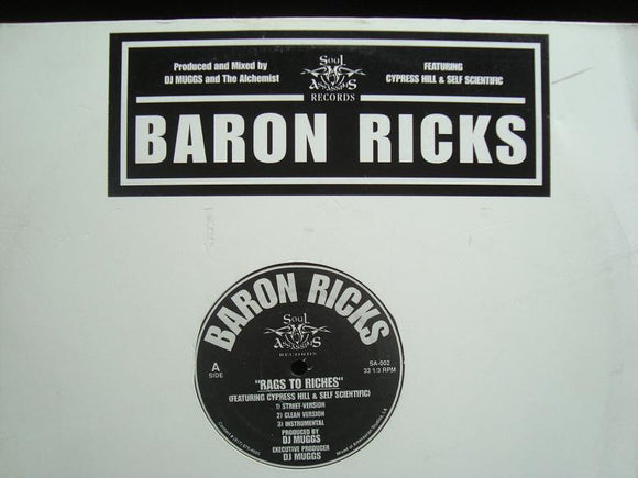 Baron Ricks - Rags To Riches / Harlem River Drive (12