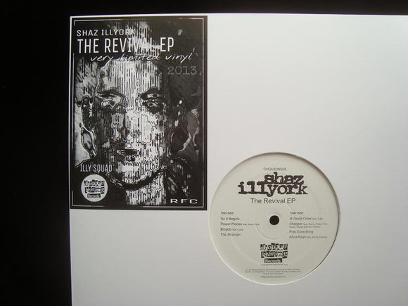 Shaz Illyork ‎– The Revival (EP)