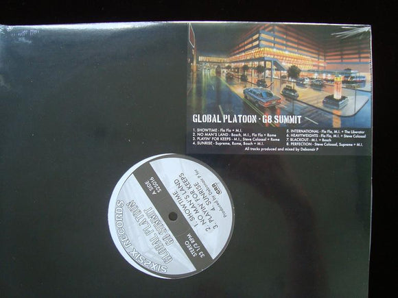 Global Platoon ‎– G8 Summit (EP)