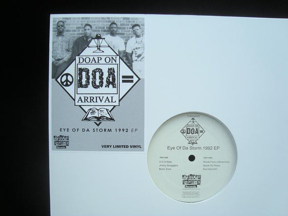 Doap On Arrival ‎– Eye Of Da Storm 1992 (EP)