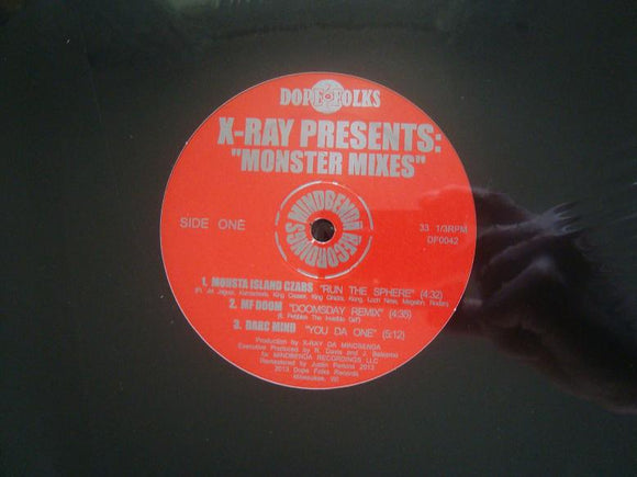 X-Ray ‎– Monster Mixes (EP)