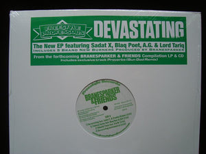 Freestyle Professors ‎– Devastating (EP)