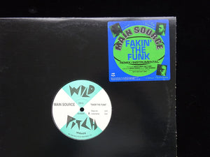 "Main Source ‎– Fakin' The Funk (12"")"