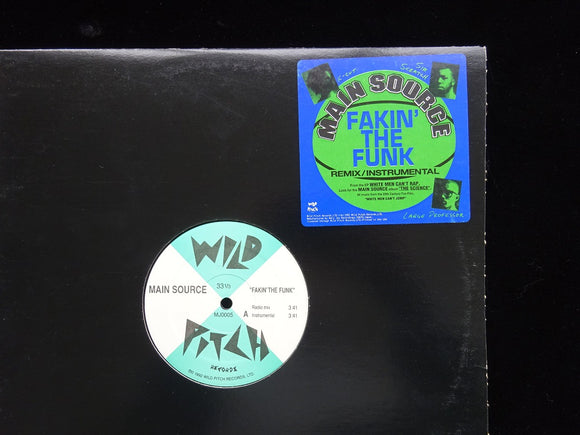 Main Source ‎– Fakin' The Funk (12