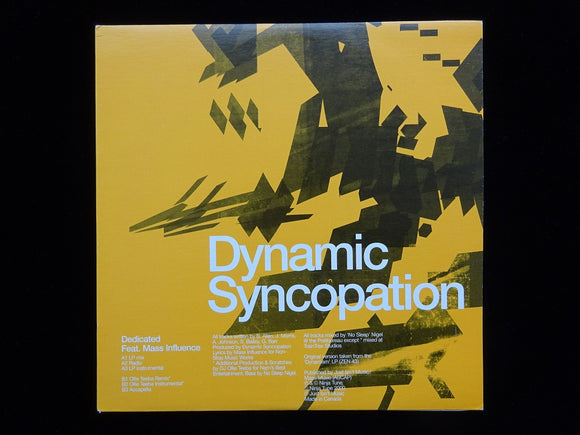Dynamic Syncopation feat. Mass Influence ‎– Dedicated (12
