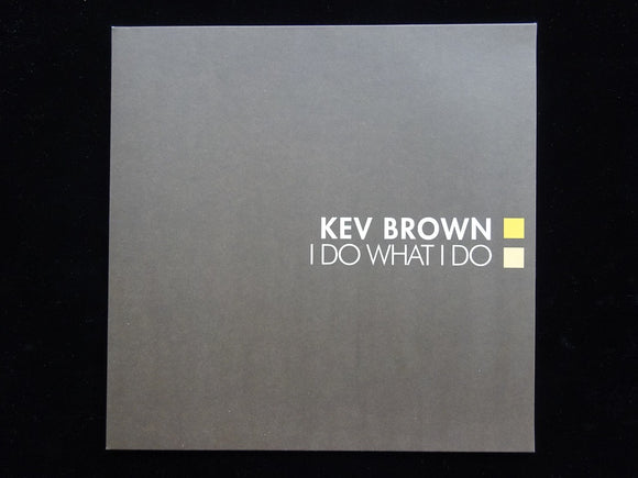 Kev Brown ‎– I Do What I Do (2LP)