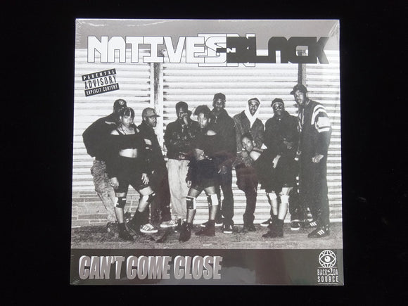 Natives In Black ‎– Can't Come Close (LP)