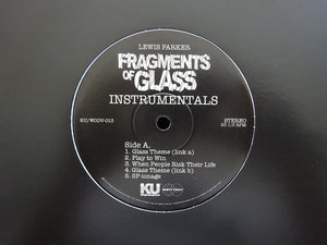 "Lewis Parker - Fragments of Glass (Instrumentals) (10"")"