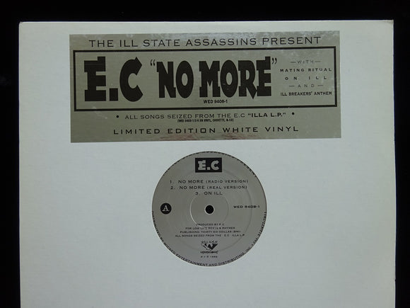 E.C ‎– No More / On Ill (12