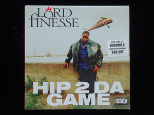 "Lord Finesse ‎– Hip 2 Da Game / No Gimmicks (12"")"