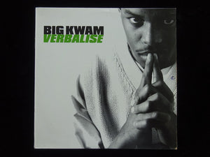 "Big Kwam ‎– Verbalise / Capacity Blown (12"")"