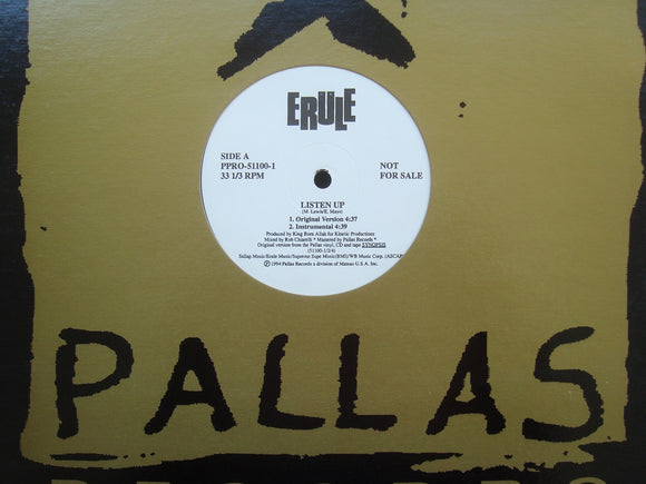 Erule ‎– Listen Up / Synopsis (12