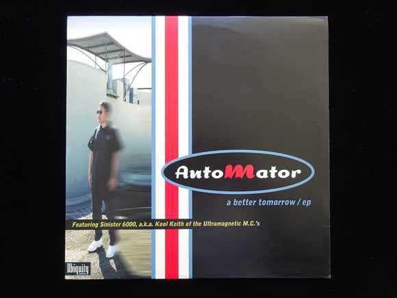 Automator ‎– A Better Tomorrow (EP)