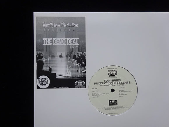 Raw Breed ‎– Raw Breed Productions Presents: The Demo Deal 1992-1994 (EP)