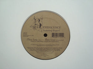 "Beneficence feat. Supa-C ‎– Thin Line / Low Profile Man (12"")"