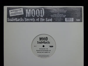 "Mood ‎– Snakebacks / Secrets Of The Sand (12"")"