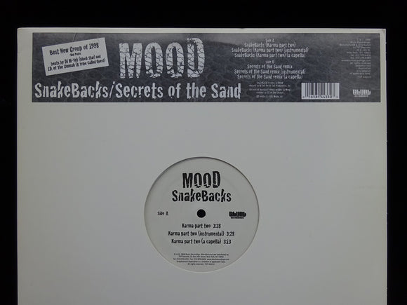 Mood ‎– Snakebacks / Secrets Of The Sand (12