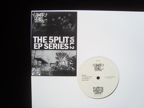 Lower Level - The Burn U.N.I. ‎– The 5plit EP Series Vol.2 (EP)