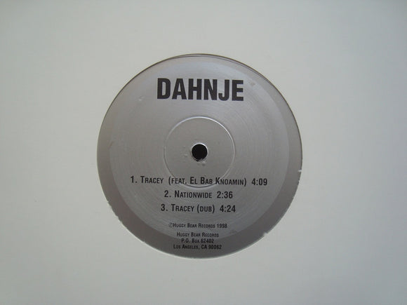 Dahnje ‎– Tracey (EP)