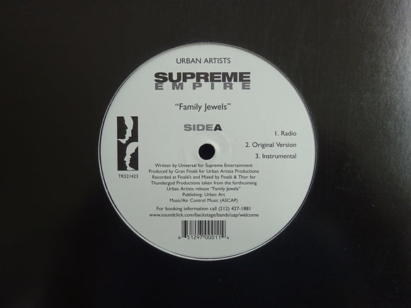 Supreme Empire ‎– Family Jewels / P.o.w.'s (12