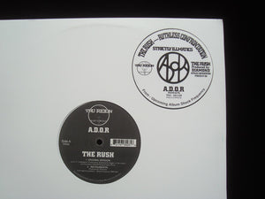 "A.D.O.R. ‎– The Rush / Ruthless Confrontation (12"")"