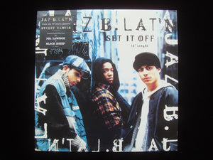 "Jaz B. Lat'n ‎– Set It Off  (12"")"