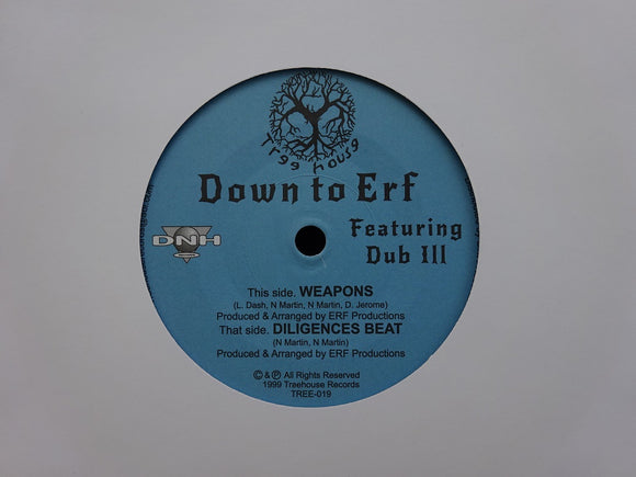 Down To Erf & Dub Ill ‎– Weapon (7