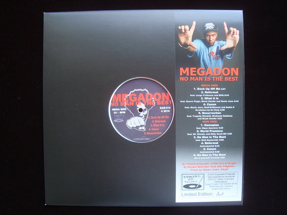 Megadon ‎– No Man Is The Best (LP)