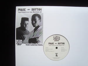 Phase-N-Rhythm ‎– The Force Of The Matrix (EP)