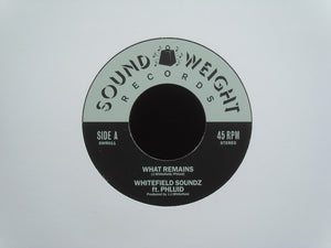 "Whitefield Soundz ‎– What Remains / Safari Strut (Fuzzed) (7"")"