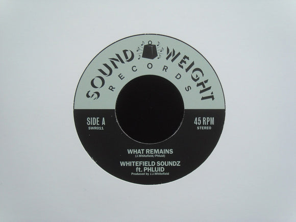 Whitefield Soundz ‎– What Remains / Safari Strut (Fuzzed) (7