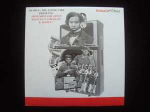 "J. Rawls - The Living Vibe pres. ""Histories Greatest Battles, Campaigns & Topics"" (2LP)"