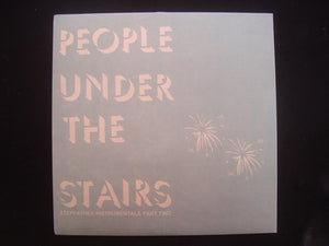 People Under The Stairs ‎– Stepfather Instrumentals Part Two (EP)