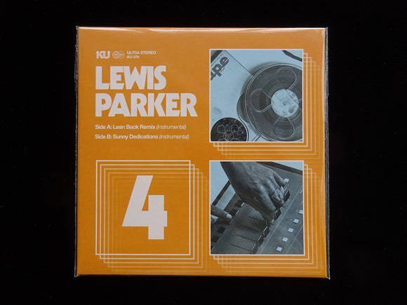 Lewis Parker ‎– The 45's Collection No.4 (7