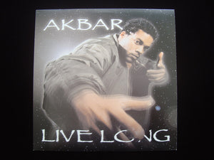 "Akbar ‎– Live Long / Hot Ya Hot (Remix) (12"")"