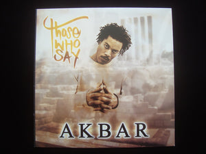 "Akbar ‎– Those Who Say / 5th Element (12"")"