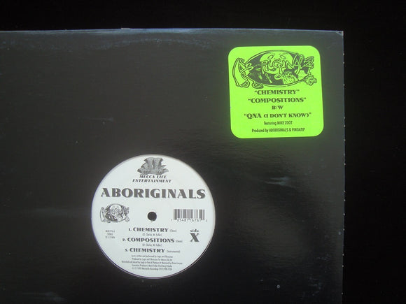 Aboriginals ‎– Chemistry / Compositions / QNA (12